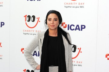 Tulisa Contostavlos Prince Harry ICAP Charity Trading Day In Aid Of Sentebale