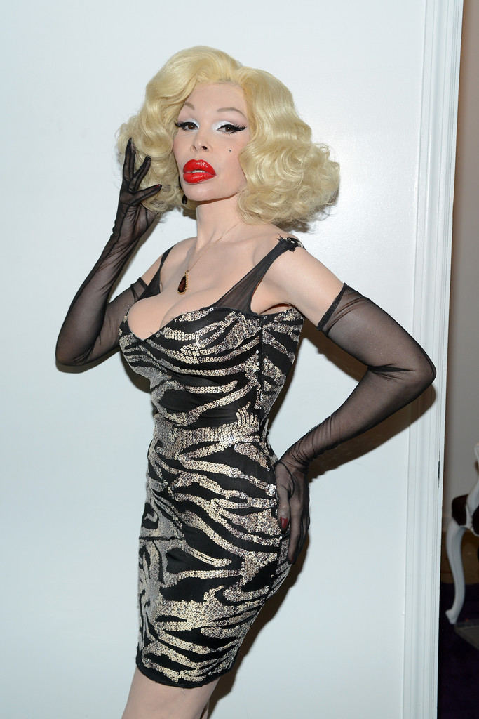 Amanda Lepore in Tumbler And Tipsy By Michael Kuluva ...