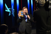 Comedian Andy Richter appears on stage during Turner Upfront 2016 show at The Theater at Madison Square Garden on May 18, 2016 in New York City.