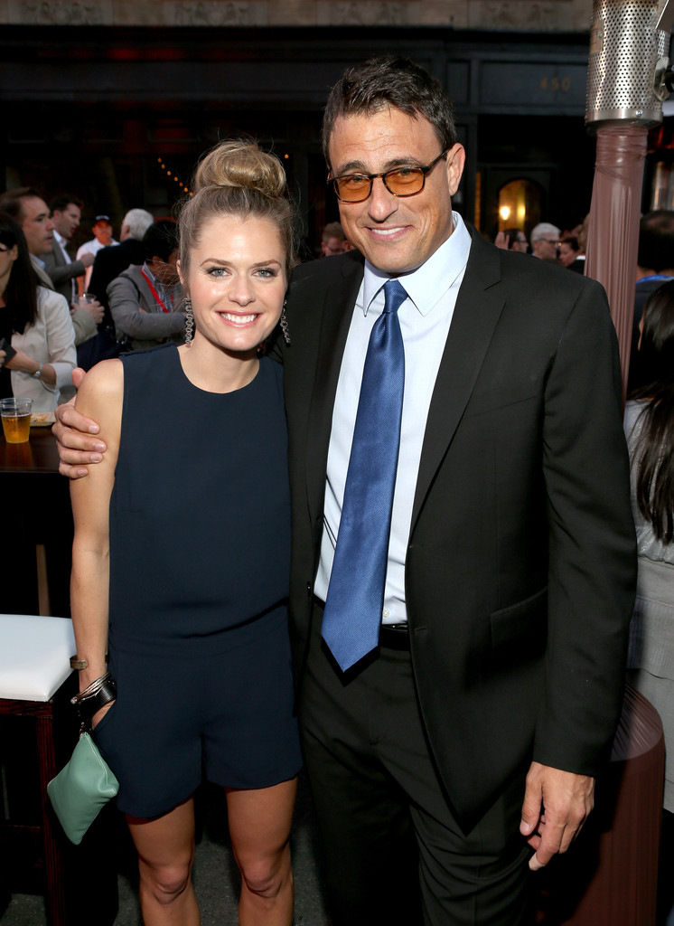 Maggie Lawson and her husband Ben Koldyke