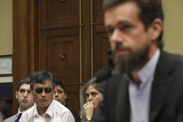 Twitter CEO Jack Dorsey Testifies To House Hearing On Company's Transparency And Accountability - 1 of 2