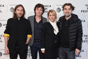 """Juan Cabral, Chris Clark,  Flora Fernandez Marengo and Emiliano Fardaus attend the """"Two/One"""" screening during the 2019 Tribeca Film Festival at SVA Theater on April 28, 2019 in New York City."""