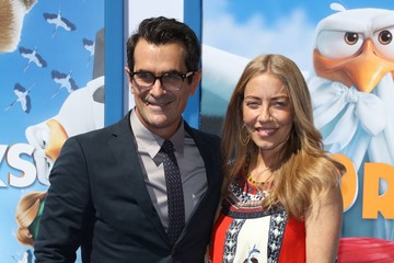 Ty Burrell Holly Burrell Premiere of Warner Bros. Pictures' 'Storks' - Arrivals