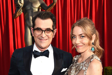 Ty Burrell Holly Burrell The 22nd Annual Screen Actors Guild Awards - Red Carpet