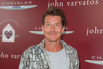 Ty Pennington Arrivals at the John Varvatos Stuart House Benefit