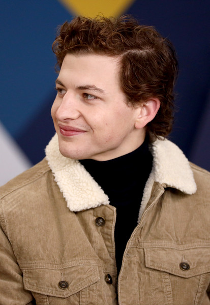 The IMDb Studio At Acura Festival Village On Location At The 2019 Sundance Film Festival – Day 4 [the mountain,hair,face,hairstyle,chin,forehead,jaw,outerwear,brown hair,smile,tye sheridan,location,acura festival village,utah,park city,imdb studio at acura festival village on location,imdb studio,sundance film festival]