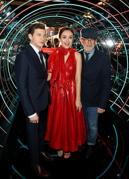 Premiere Of Warner Bros. Pictures' 'Ready Player One' - Red Carpet
