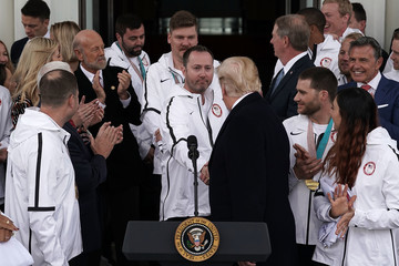 Tyler George President Trump Welcomes U.S. Olympic Athletes To The White House