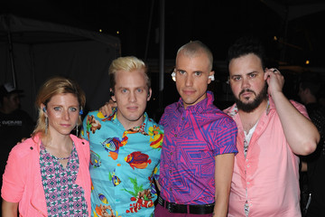 Tyler Glenn iHeartRadio Ultimate Pool Party Presented By VISIT FLORIDA At Fontainebleau's BleauLive - Offstage - Day 2