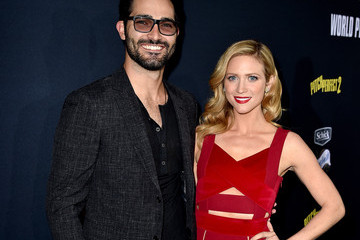 Tyler Hoechlin Premiere Of Universal Pictures' 'Pitch Perfect 2' - Red Carpet