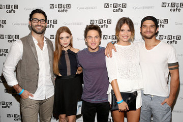 Tyler Hoechlin Holland Roden Wired Care at Comic-Con