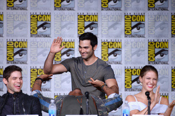 Tyler Hoechlin Comic-Con International 2016 - 'Supergirl' Special Video Presentation And Q&A