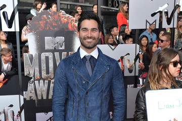 Tyler Hoechlin Arrivals at the MTV Movie Awards — Part 2