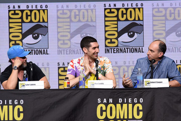 Tyler Labine Comic-Con International 2017 - 'Dirk Gently's Holistic Detective Agency' BBC America Official Panel