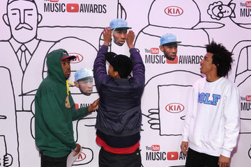 Tyler Okonma Arrivals at the YouTube Music Awards