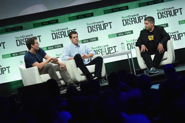 Tyler Winklevoss TechCrunch Disrupt NY 2015 - Day 3