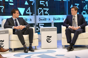 Tyler Winklevoss The New York Times DealBook Conference in NYC