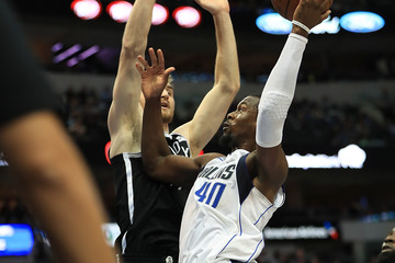 Tyler Zeller Brooklyn Nets v Dallas Mavericks
