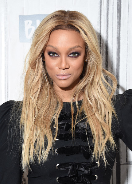 tyra banks photos photos celebrities visit build