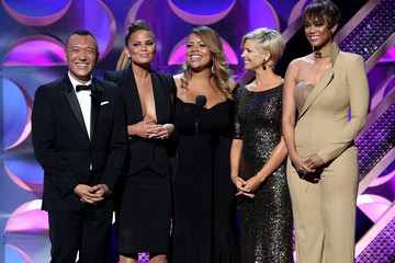 Tyra Banks Chrissy Teigen The 42nd Annual Daytime Emmy Awards - Show