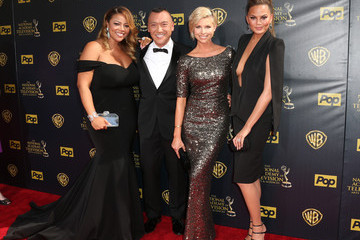 Tyra Banks Chrissy Teigen The 42nd Annual Daytime Emmy Awards - Arrivals