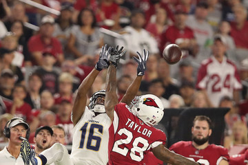 Tyrell Williams Los Angeles Chargers vs. Arizona Cardinals