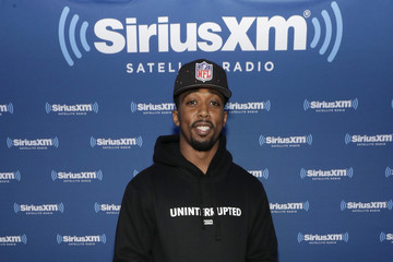 Tyrod Taylor SiriusXM at Super Bowl LI Radio Row