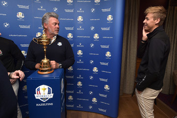 Tyrone Clarke Ryder Cup Trophy Tour - Portrush