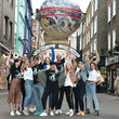 Tyrone Wood Ocean Conservation Group 'Project 0' Ambassadors Unveil 'One Ocean One Planet' On Carnaby Street