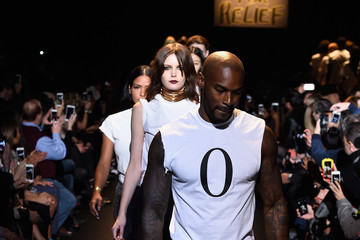 Tyson Beckford #TackleEbola At Naomi Campbell's Fashion For Relief - Mercedes-Benz Fashion Week Fall 2015