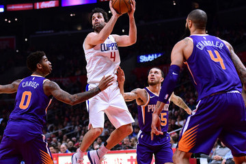 Tyson Chandler Phoenix Suns v Los Angeles Clippers