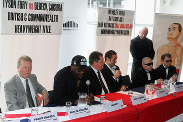 Wayne Hennessy Tyson Fury v Dereck Chisora- British & Commonwealth Heavyweight title clash Press Conference