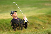 Soren Hansen of Denmark watches a shot on the second hole during the first round of the 110th U.S. Open at Pebble Beach Golf Links on June 17, 2010 in Pebble Beach, California.