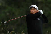 K.J. Choi of South Korea hits his tee shot on the second hole during the first round of the 110th U.S. Open at Pebble Beach Golf Links on June 17, 2010 in Pebble Beach, California.
