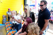 "Tori Spelling and Dean McDermott attend UCLA Mattel Children's Hospital's 20th Annual ""Party on the Pier"" at Pacific Park – Santa Monica Pier on November 03, 2019 in Santa Monica, California."