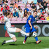 Robbie Keane Photos - Robbie Keane tries to pass the ball during the UEFA Match for Solidarity at Stade de Geneva on April 21, 2018 in Geneva, Switzerland. - UEFA Match For Solidarity