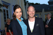 Susan Hoecke and Johann von Buelow attends the UFA FICTION Reception during the Munich Film Festival at Cafe Reitschule on June 29, 2015 in Munich, Germany.