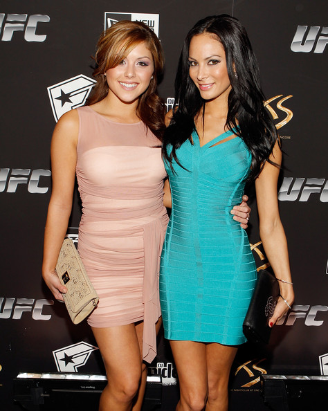 Brittney Palmer Dating Donald Cerrone UFC  Famous Stars And Straps