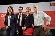 Labours candidates for Leader  and Deputy Leader  Liz Kendall, Andy Burnham, Yvette Cooper  and Jeremy Corbyn take part in a hustings in The Old Fruitmarket, Candleriggs on July 10, 2015 in Glasgow, Scotland. The four candidates for the Labour Leader ship Andy Burnham, Liz Kendall, Jeremy Corbyn and Yvette Cooper faced questions on a range of issues including immigration, welfare and the economy.