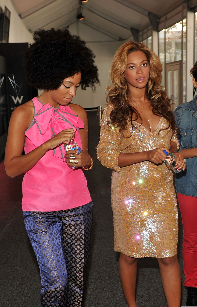Beyonce Knowles And Solange Knowles Photos Photos Unicef