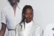 """Lupita Nyong'o attends the """"US"""" premiere at Museum of Modern Art on March 19, 2019 in New York City."""