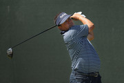 Jason Dufner of the United States plays his shot from the fourth tee during the first round of the 2018 U.S. Open at Shinnecock Hills Golf Club on June 14, 2018 in Southampton, New York.