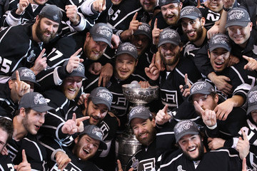 Mike Richards Jonathan Quick USA - Sports Pictures of the Week - June 18, 2012