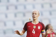 Becky Sauerbrunn of USA during the international friendly between Sweden and USA at Ullevi Stadium on June 8, 2017 in Gothenburg, Sweden.