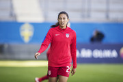 Christen Press of USA during the international friendly between Sweden and USA at Ullevi Stadium on June 8, 2017 in Gothenburg, Sweden.