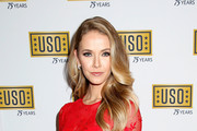 Miss USA 2015 Olivia Jordan attends the USO 75th Anniversary Armed Forces Gala & Gold Medal Dinner at Marriott Marquis Times Square on December 13, 2016 in New York City.