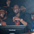 Udonis Haslem LYFE Brand Celebrates Dwyane Wade Jersey Retirement At HYDE AmericanAirlines Arena