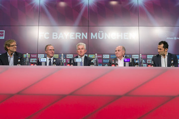 Uli Hoeness Jupp Heynckes Returns to Bayern Muenchen As Head Coach