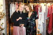 Booth Moore and Irene Neuwirth attend the Ulla Johnson SS17 Celebration at A.O.C on October 20, 2016 in Los Angeles, California.