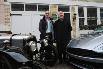 Ulrich Bez Aston Martin Celebrates Centenary By Unveiling A Plaque At The Brand's Original Home In Brompton